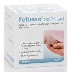 FETUSAN plus Omega-3 capsules 72 pcs for pregnancy, breastfeeding