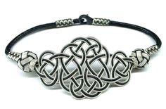 Rope Jewelry, Leather Jewelry, Jewelry Crafts, Jewelery, Cute Bracelets, Macrame Bracelets, Handmade Home, Handmade Jewelry, Do It Yourself Jewelry