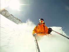 GoPro Skiing by GoPro_Photos, via Flickr