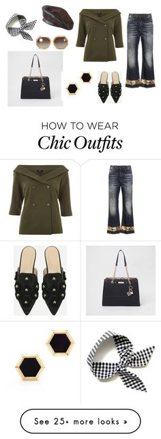 """""""LOOK DEL DIA"""" by aliciagorostiza on Polyvore featuring River Island, Dolce&Gabbana, Birks, Ted Lapidus and Fendi Ted Lapidus, Chic Outfits, River Island, Fendi, Polyvore, Fashion, Moda, Fashion Styles, Classy Outfits"""