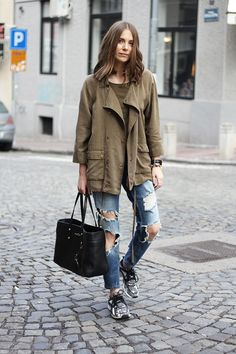 Fashion and style: Draped jacket