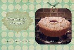 Letizia in Cucina: Ciambellone Light allo yogurt (senza uova, senza ...