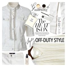 """""""White sensation"""" by vanjazivadinovic ❤ liked on Polyvore featuring Hollister Co., LULUS, Chanel, Givenchy, Olivine, polyvoreeditorial and twinkledeals"""