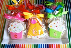 Cute birthday party favors.