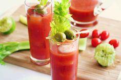 Sriracha and Wasabi Bloody Mary