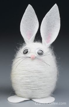 Yarn Bunny with tutorial