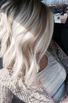 Ash blonde is best hair color to grab the attention of everyone. It is not typical hair color highlights for specific ladies, Wear it for extra charming look.
