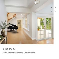 Just Sold in Coral Gables! Represented the buyers  Reach out to benefit from the MJB Partner strategy, experience and momentum. South Florida, Stills For Sale, Coral Gables, Luxury Real Estate, Benefit, Interiors, Interior Design, House, Haus