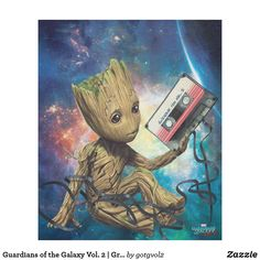 Guardians of the Galaxy Vol. 2 | Groot With Tape Fleece Blanket