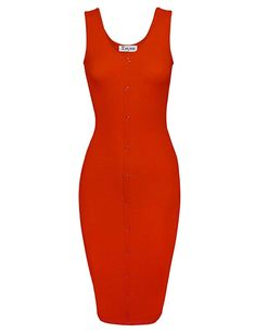 Toms Ware Women Classy Snap Buttons Sleeveless Bodycon Dress L >>> Visit the image link more details. (This is an affiliate link) 15 Dresses, Club Dresses, Scoop Neck, Bodycon Dress, Classy, Buttons, Clothes, Toms, Image Link