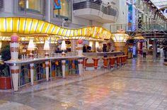 voyager of the seas, cafe promenade - the place to get free pizza, sandwiches, and cookies wee into the night. Cruise Ship Reviews, Royal Caribbean, Rockets, Seas, Sailing, Sandwiches, Beautiful Places, Pizza, Journey