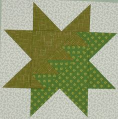 Fiery Star, made from the original pattern in Judy Martin's book, Knockout Blocks & Sampler Quilts. Books and Quilts: February 2008