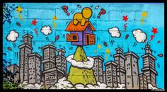 Commune de St Pierre Graffiti Art, Graffiti Lettering Fonts, Tag Street Art, St Pierre, Street Artists, Monopoly, Fictional Characters, Xmas, Chicken