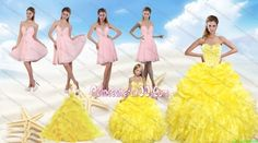 http://www.quinceanera100.com/yellow-sweetheart-beading-quinceanera-dress-and-light-pink-short-prom-dresses-and-ruffles-and-beading-little-girl-dress-g14154.html