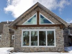 Stoneyard.com - Natural Stone Siding for Architecture: Colorado Home with New England Natural Stone
