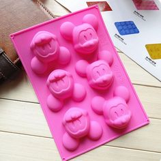 Fashion Mouse Silicone Cake Mold Chocolate Cookie Baking Ice Cube Soap Mould