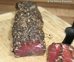 Filet mignon de porc séché (400 à 500g) Churros, Fish And Meat, How To Make Sausage, Anti Inflammatory Recipes, Dehydrator Recipes, Dehydrated Food, Tips & Tricks, Smoking Meat, Fermented Foods