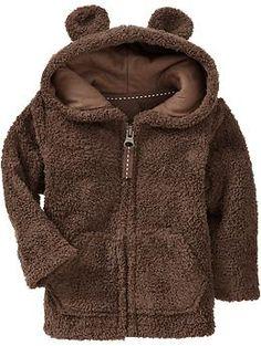 Plush Fleece Critter Hoodies for Baby | Old Navy