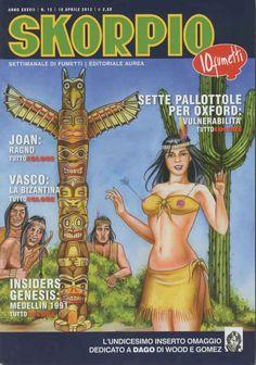 Fumetti EDITORIALE AUREA, Collana SKORPIO ANNEE 37 - 201315