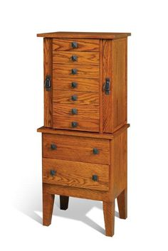 Woodworking Plans Jewelry Armoire For the Home Pinterest