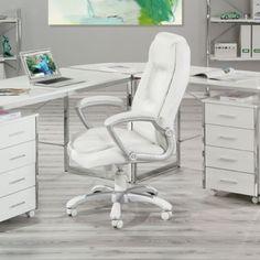 Cadeira de Escritório Montello Branco Inter Link $629