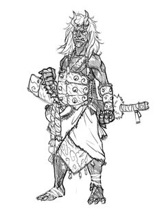 Oni-monk by regourso