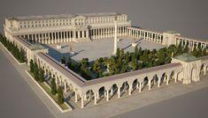 Architecture Baroque, Public Architecture, Architecture Concept Drawings, Minecraft Architecture, Futuristic Architecture, Historical Architecture, School Architecture, Ancient Architecture, Urban Design Plan
