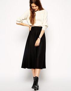aa0d97e83cc ASOS+Midi+Circle+Skirt+in+Brushed+Wool+Mix Box