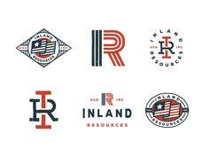 Inland Resources by Jeff Buchanan #Design Popular #Dribbble #shots