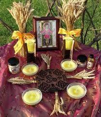 lammas sabbat ritual. - Pinned by The Mystic's Emporium on Etsy