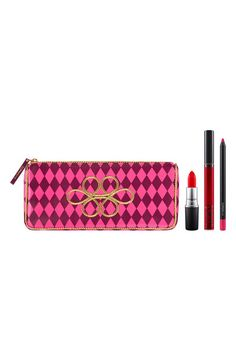 MAC Nutcracker Sweet Red Lip Kit – This kit includes a Vamplify Lip Gloss in Suggestive, a Lipstick in Candy Cane, and a Pro Longwear Lip Pencil in Trust in Red for only $23.70.
