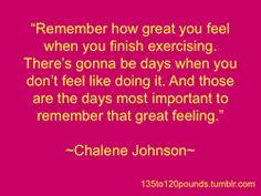 - chalene johnson -