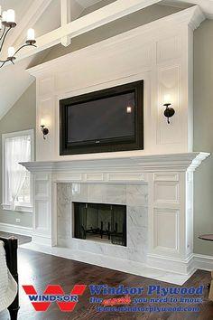 Fireplace  look