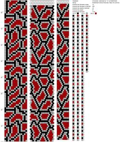 Diy And Crafts, Arts And Crafts, Bead Loom Patterns, Bead Crochet, Loom Beading, All Art, Weaving, Beads, Bracelets