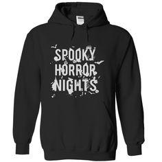 (Top Tshirt Deals) Spooky Horror Nights [Tshirt design] Hoodies, Tee Shirts
