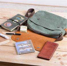 Canvas-Shoulder-Bag-Womens-3 Rucksack Bag, Canvas Shoulder Bag, Wallet, Bags, Check, Handbags, Purses, Diy Wallet, Purse
