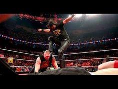 John Cena vs Brock Lesnar vs Seth Rollins Contract Signing - WWE Raw Jan...