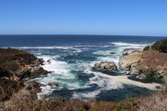 Big Sur is an area of central California coastline where the Santa Lucia Mountains rise in steep, jagged formations from the Pacific Ocean. (pinned by haw-creek.com)