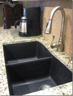 Blanco Sinks In Granite Undermount Google Search Black Kitchen Sink