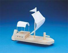 Wood boat craft.