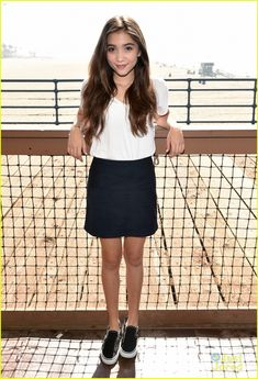 rowan blanchard disney  photoshoot | Sabrina Carpenter & Rowan Blanchard 'Meet' Mattel's Party On The Pier ...
