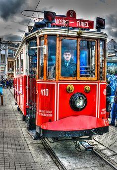 Taksim - Tunel Street Trolley - Istanbul