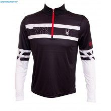 Spyder Men Heritage Dry W.E.B First Layer T Neck – Black White Red