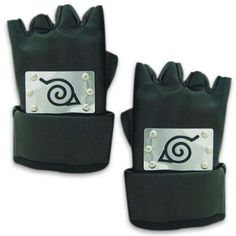 Naruto Cosplay Accessories Ninja Leaf Village Gloves.com