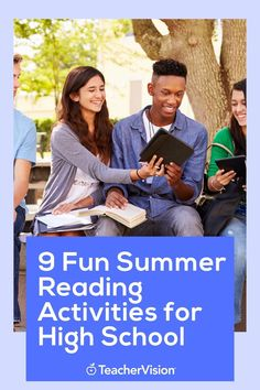 Have your students try some of these 9 fun reading activities over the summer! Each activity includes a fun reading project that help with your students reading or comprehension skills. Reading Projects, Reading Resources, Reading Activities, Reading Skills, Summer Activities, Teacher Resources, Reading Record, Summer Reading Lists, Student Reading