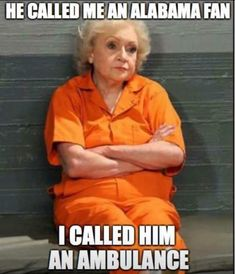 """Hot in Cleveland - love Betty White! It's not Monday but it's still not Friday - Hot in Cleveland – love Betty White! It's not Monday but it's still not Friday """" Hot in Cle - Tennessee Volunteers Football, Georgia Bulldogs Football, Clemson Football, Tennessee Football, Football Memes, Clemson Memes, College Football, Georgia Bulldogs Quotes, Tennessee Song"""