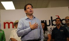 Marco Rubio Is Still Backing Donald Trump, But Won't Say If Trump Will Keep The Country Safe   Huffington Post