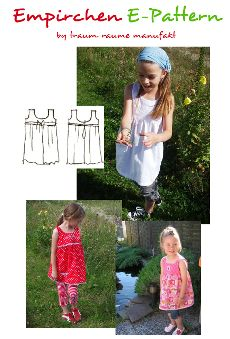 Ebook: Empirchen - Smila´s World - {Shop} Pdf Sewing Patterns, Lily Pulitzer, Girls, Summer Dresses, Tops, Shopping, Baby, Fashion, Bruges Lace