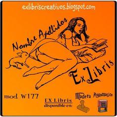 EX libris Pin-up con perrito Referencia  W177  Senda flotante de leve bruma, rizada cinta de blanca espuma, rumor sonoro de arpa de oro, beso del aura, onda de luz, eso eres tú. EXLibris Creativos es la manera más original de personalizar tus #libros y #comics!!  ¡¡Visita nuestra web http://exlibriscreativos.es y comparte #Cultura, Regala #EXlibris!! #RegaloPersonalizado #bookplates #Stamp #DiseñoGrafico #GraphicDesign #books #Leer #Lectura #read #reading #reader #literature #leyendo…