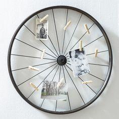 FREE SHIPPING! Shop Wayfair for Mercury Row Vintage Wheel Photo Holder - Great…